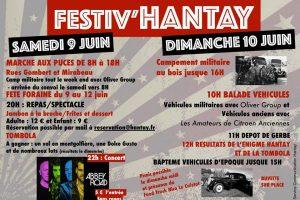 Affiche de Festiv'Hantay - Programmations du Tributes