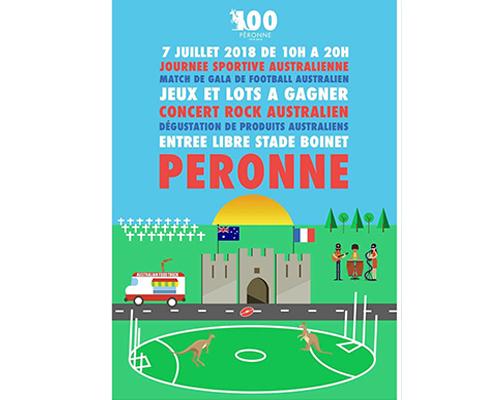 Affiche 070718 Peronne - sonorisation du stade