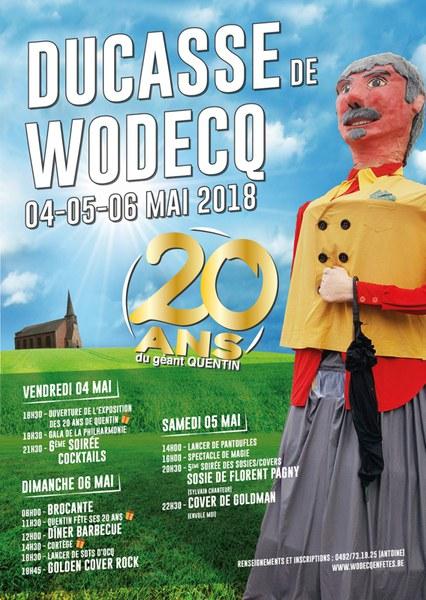 Affiche Ducasse Wodecq
